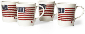 Ralph Lauren Home Bradfield Mugs White/multi