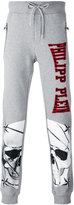 Philipp Plein skull print jogging pants - men - Cotton - S