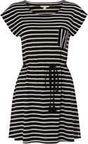 White Stuff Monochrome Stripe Jersey Tunic