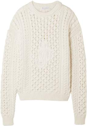 J.W.Anderson Cable-knit Cotton-blend Sweater