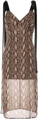 GOEN.J Vegas printed sleeveless dress