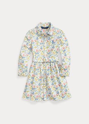 Ralph Lauren Floral Belted Shirtdress