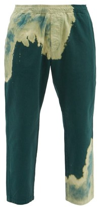 Noma t.d. Tie-dye Cotton-jersey Track Pants - Green