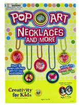 Creativity For Kids Pop-Art Necklaces Jewelry Kit