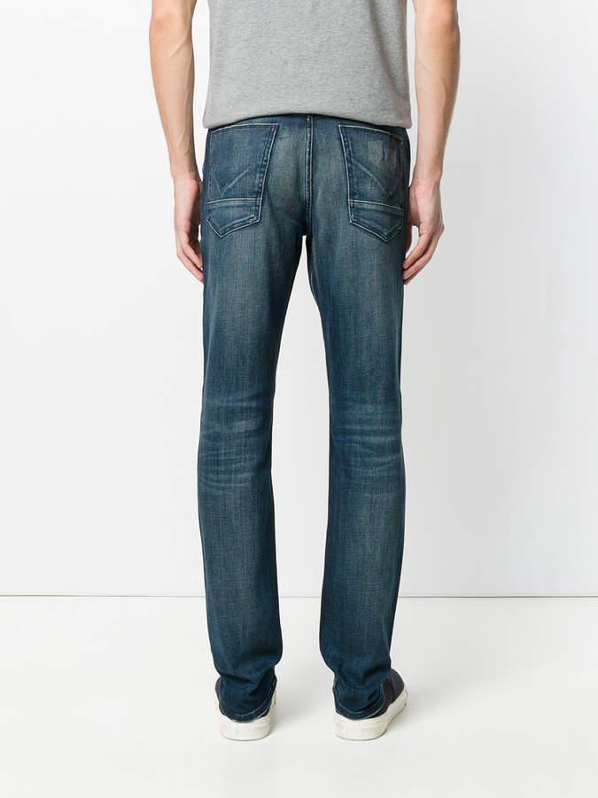 Hudson stitch detail jeans