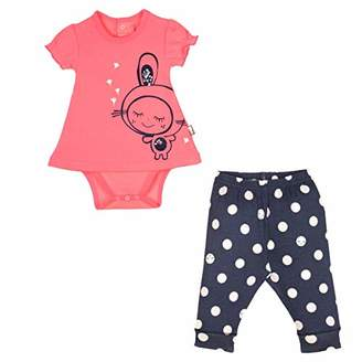 Camilla And Marc Baby Girl Tunic and Leggings minilutin Bodysuit Set - - Size 18 Months (86 cm)