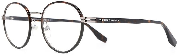 Thumbnail for your product : Marc Jacobs Tortoiseshell Round Glasses