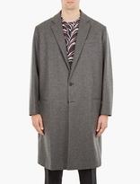 Marni Grey Virgin Wool Overcoat