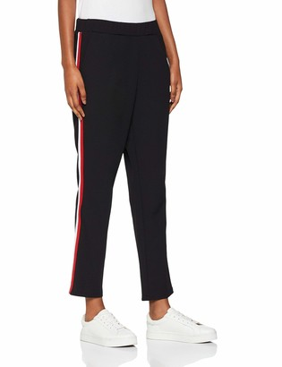 Mavi Jeans Women's 167294 Relaxed Trousers - Black - Not Applicable