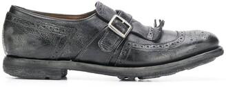 Church's Shanghai brogue monk shoes