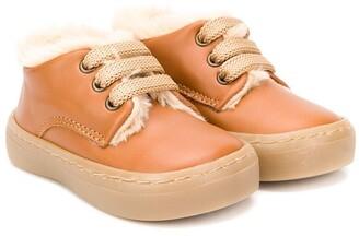 Babywalker Derby lace up boots