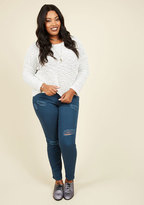 Dollhouse Return the Flavor Jeans in Blueberry - 14-24