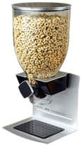 Zevro Single Premier Designer Edition Dry Food 17.5 Oz. Cereal Dispenser