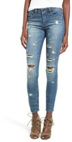 Blank NYC Women's Blanknyc 'So-Called Life' Destroyed Skinny Jeans
