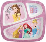 Zak Designs Zak! Designs Three Section Plate - Princess