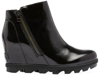 Sorel Joan of Arctic II Patent Leather Wedge Boots
