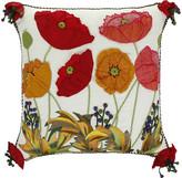 Mackenzie Childs Poppy Field Pillow