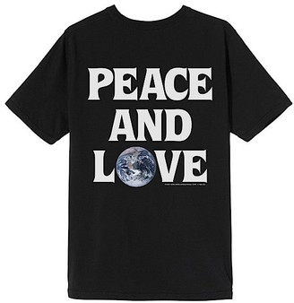 Stussy PEACE & LOVE TEE - xs