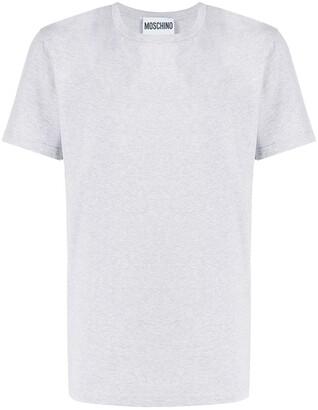 Moschino logo applique T-shirt
