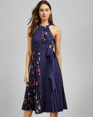 Ted Baker Hedgerow Pleat Detail Dress
