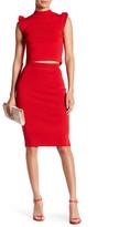 Wow Couture Crop Top & Skirt 2-Piece Set