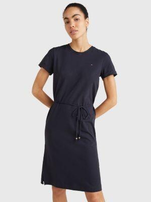 Tommy Hilfiger Cotton Drawstring T-Shirt Dress