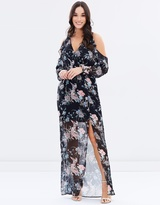 Lipsy Cold Shoulder Maxi Dress