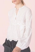 Ulla Johnson Lucie Embroidered Top