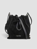 Calvin Klein Keyla Suede Bucket Bag