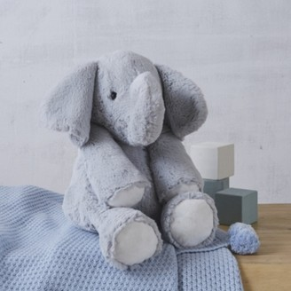 The White Company Kimbo Elephant Medium Toy, Grey, One Size