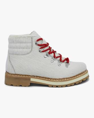 Montelliana White Marlena Shearling Boot