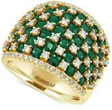 Effy Brasilica by Emerald (3-3/4 ct. t.w.) and Diamond (1-1/5 ct. t.w.) Ring in 14k Gold