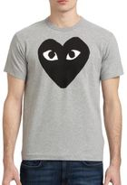 Comme des Garcons Dyed Cotton Graphic Tee