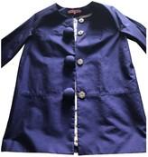 Manoush Purple Cotton Coat for Women