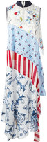 Antonio Marras patchwork maxi dress - women - Spandex/Elastane/Cupro/Viscose - 40