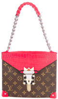 Louis Vuitton Pochette Mask Crocodiliens GM