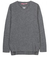Dear Cashmere SEAMED WOOL PULLOVER