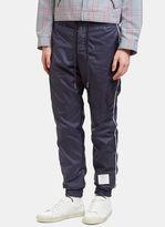 Thom Browne Men's Ripstop Track Pants in Navy