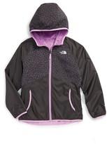 The North Face Girl's Breezeway Reversible Water Repellent Windbreaker Jacket