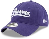 New Era Women's Purple Baltimore Ravens Tail Sweep 9TWENTY Adjustable Hat