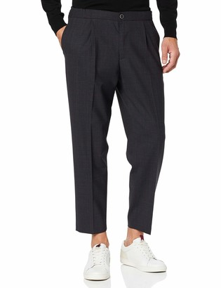 Benetton Men's Basico 2 Man Suit Trousers
