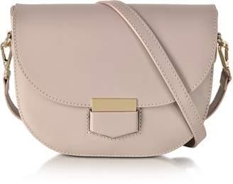 Gisèle 39 Clio Smooth Leather Flap Shoulder Bag
