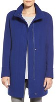 Ellen Tracy Women's Wool Blend Stadium Coat