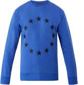 Etudes Etoile Europa Blue Crew Sweatshirt