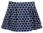 Tartine et Chocolat Girls' Dot Jacquard Pleated Skirt - Sizes 2-6 Months