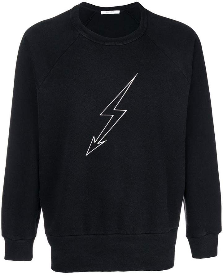 Givenchy lightning bolt sweatshirt