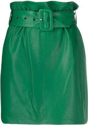 FEDERICA TOSI High-Waisted Belted Skirt