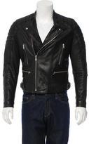 Sandro Leather Moto Jacket
