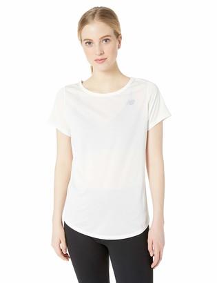New Balance Women's Accelerate Short Sleeve Shirt