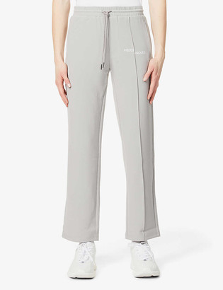 Pieces Uniques Relaxed-fit stretch-woven jogging bottoms
